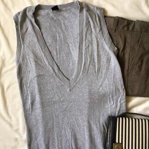 GAP Sweaters - [ GAP Gray Gray Pullover Sleeveless Sweater ] s